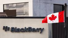 BlackBerry Ltd. is preparing to turn its once-proprietary secure-messaging system into a subscription service for app developers. (MARK BLINCH/REUTERS)