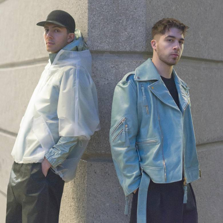Ssense started with a focus on men's wear and still sells a good chunk of its inventory to fashion-forward guys. Its new campaign features Majid Jordan – the producing and recording duo signed to Drake's OVO Sound label – photographed at the University of Toronto wearing minimal sportswear by labels such as Miharayasuhiro, Calvin Klein, Lanvin and Reebok Classics.