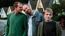 Publicity shot from Swedish film Patrik 1.5