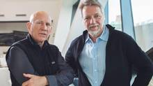 Sebastião Salgado and Edward Burtynsky. (JENNIFER ROBERTS FOR THE GLOBE AND MAIL)
