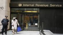 An Internal Revenue Services office in New York. (Lucas Jackson/REUTERS)