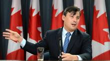 Conservative MP Michael Chong holds a press conference at the National Press Theatre in Ottawa on Dec. 3, 2013. (SEAN KILPATRICK/THE CANADIAN PRESS)