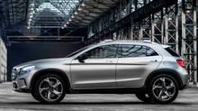 Mercedes-Benz GLA Concept (Mercedes-Benz)