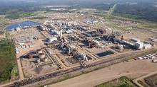 A Nexen oil sands facility near Fort McMurray, Alta., is seen in this 2012 photograph. (The Canadian Press)