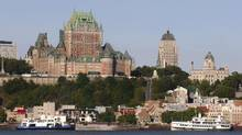 Ferry and excursion boats near Old Quebec City. (Tony Tremblay/iStockphoto)