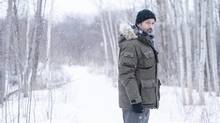 Billy Campbell stars as the titular detective attempting to solve the long-ago murder of a girl found in a block of ice in Cardinal. (Brooke Palmer)