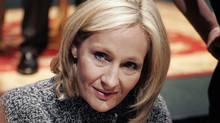 J.K. Rowling at a Harry Potter book signing in 2007. (Bill Haber/AP)