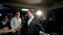 Adrian Dix said he is looking foward to a 'diverse range of candidates' in the race to replace him as NDP leader. (Rafal Gerszak for the globe and mail)