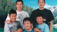 Edward Snowshoe killed himself in prison in 2010. (Family handout)