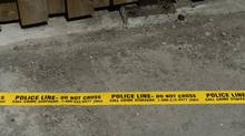 Police tape. (Fred Lum/The Globe and Mail)
