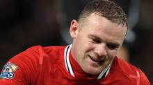 Manchester United's English striker Wayne Rooney has appealed his three-match suspension by UEFA. Getty Images/ADRIAN DENNIS (ADRIAN DENNIS/Getty Images)