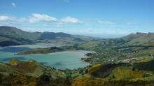 A view of Governors Bay, New Zealand, from the Sugarloaf Scenic Reserve. (Domini Clark/The Globe and Mail)