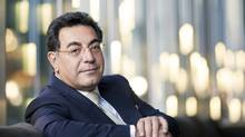 Samir Brikho, chief executive of AMEC in Calgary on Nov. 24, 2011. 'Gas is abundant, affordable and acceptable environmentally … they can put Canada back in the game,' says Mr. Brikho. (Chris Bolin/For The Globe and Mail/Chris Bolin/For The Globe and Mail)