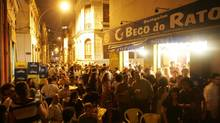 Head to the party neighbourhood of Lapa. (Ricardo Moraes/Associated Press)