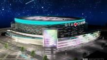 Rendering of the proposed Markham Arena (Handout/BBB ARCHITECTS Toronto Inc.)