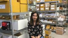 Nadia Shuaib is co-founder of Budget Electronics, a Toronto-based cellphone accessory vendor. (Budget Electronics)