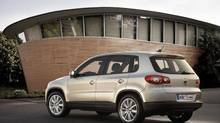 The Tiguan's handling was exemplary, arguably the best in its class. (Volkswagen)
