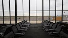 The passenger lounge area of the new Fort McMurray International Airport terminal. (AMBER BRACKEN FOR THE GLOBE AND MAIL)