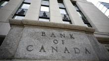 A general view of the Bank of Canada building in Ottawa. The Bank will make an interest rate announcement on Tuesday. (BLAIR GABLE/REUTERS)