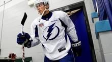 Former Tampa Bay Lightning captain Vincent Lecavalier (Dirk Shadd/AP)