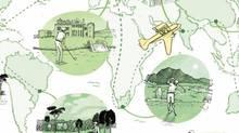Golf Meccas (Illustration by Jori Bolton)