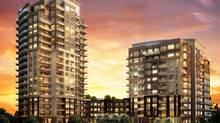 PERSPECTIVE Condominiums, Etobicoke, by Pianosi Development Corp