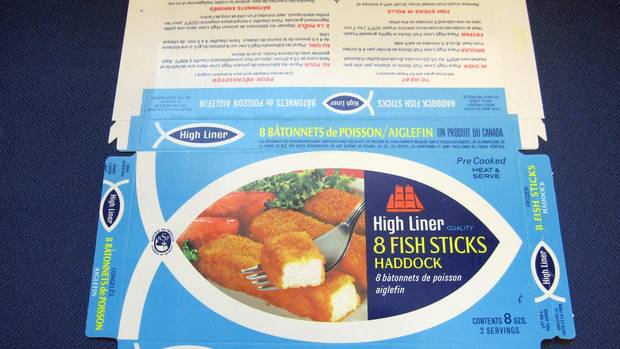 We are what we ate canada s history in cuisines the for Fish stick brands