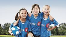An ad for BMO's community-oriented soccer sponsorship program. (BMO)
