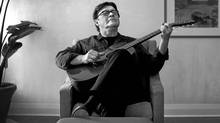 Robbie Robertson in Toronto this week. (Moe Doiron/Moe Doiron / The Globe and Mail)