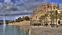 La Seu Cathedral is Palma's stunning 'golden fortress.' (iStockPhoto)