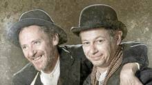 Simon Webb and Anthony F. Ingram in the Blackbird production of Waiting for Godot. (Tim Matheson)