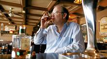 Davin de Kergommeaux is a leading champion and the premiere tasting guide/historical expert for Canadian whisky. (Dave Chan/Dave Chan for The Globe and Mail)