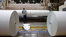 Catalyst's Crofton mill is the last of the company's three remaining plants to make newsprint. (CATALYST PAPER)