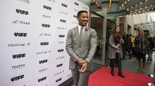 Nate Parker, co-writer, director and star of the acclaimed film The Birth of a Nation, arrives for Vancouver International Film Festival premier of his film in Vancouver, British Columbia, Saturday, October 1, 2016. (Rafal Gerszak For The Globe and Mail)