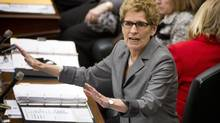 Premier Kathleen Wynne says that when it comes to restaurant menus the more people know, the better off they will be. (Kevin Van Paassen/The Globe and Mail)