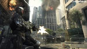 A screenshot from Crytek's Crysis 2, coming to Xbox 360, PlayStation 3, and PC in March.