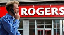 A Rogers Communications store in Ottawa (CHRIS WATTIE/CHRIS WATTIE/REUTERS)
