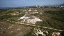 Area selected for planned Olympic golf course in Rio (Victor R. Caivano)