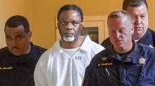 In this April 18, 2017, file photo, Ledell Lee appears in Pulaski County Circuit Court. (Benjamin Krain/AP)