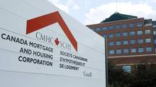 The Canada Mortgage and Housing Corporation complex in Ottawa on Thursday Oct. 9, 2008. (Sean Kilpatrick/Sean Kilpatrick for Globe and Mail)