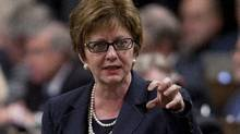 Federal Human Resources Minister Diane Finley said earlier this month that she was not satisfied with the process that resulted in permission for foreign workers to come to the B.C. mining project. (Adrian Wyld/Canadian Press)