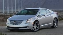 The 2014 Cadillac ELR. (Richard Prince/AP)