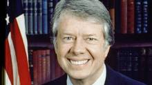 U.S. president Jimmy Carter.