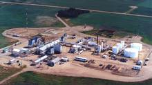 Fairborne's Clive property is located in central Alberta, approximately 50 kilometres northeast of Red Deer. (Fairborne)