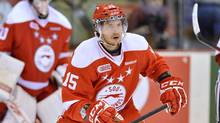 Sault Ste. Marie Greyhounds defenceman Chris Buonomo. (Terry Wilson/OHL Images.)