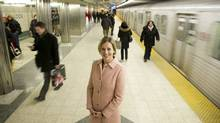 TTC chair Karen Stintz says the system has to expand to meet new transit objectives. (Kevin Van Paassen/The Globe and Mail)