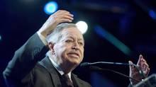 Former Quebec premier Jacques Parizeau. THE CANADIAN PRESS/Graham Hughes. (Graham Hughes/THE CANADIAN PRESS)