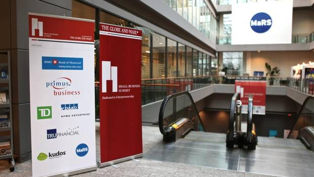 The Globe and Mail's Small Business Summit was held on Nov. 22 at MaRS Discovery District