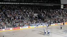 The Toronto Marlies vs Oklahoma City Barons in Toronto. (Graig Abel/Marlies.ca)