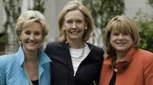 Jill Flynn, Kathryn Heath and Mary Davis Holt, co-authors of Break Your Own Rules. (Jossey-Bass)